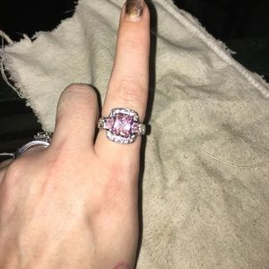 Jewelry - Beautiful 925 stamped engagement ring size 7
